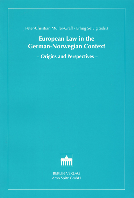 European Law in the German-Norwegian Context