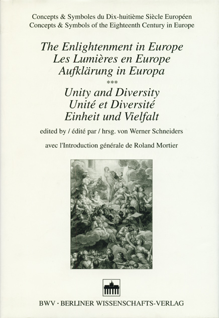 The Enlightenment in Europe /Les lumières en Europe /Aufklärung in Europa