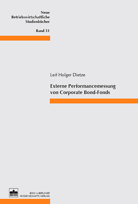 Externe Performancemessung von Corporate  Bond-Fonds