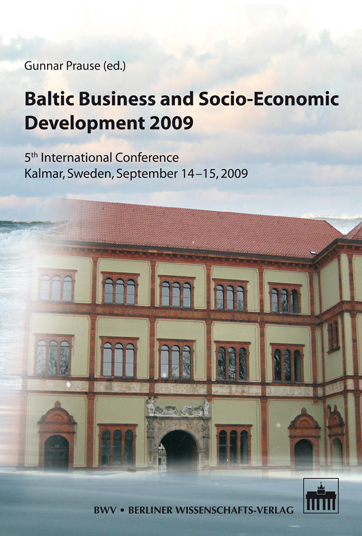Baltic Business and Socio-Economic Development 2009