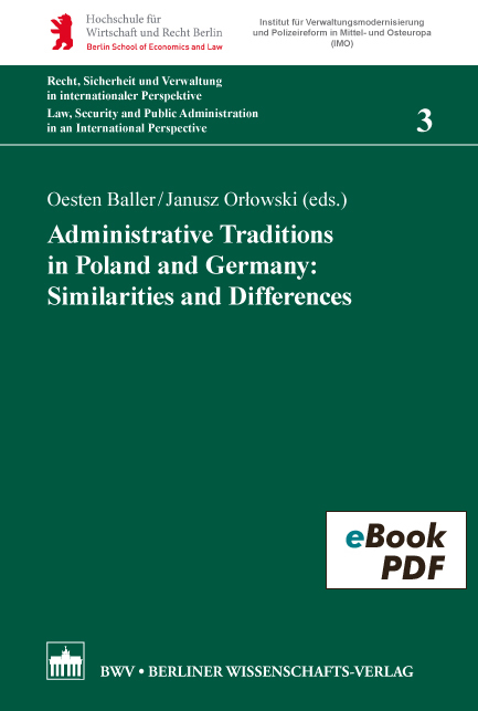 Administrative Traditions in Poland and Germany: Similarities and Differences