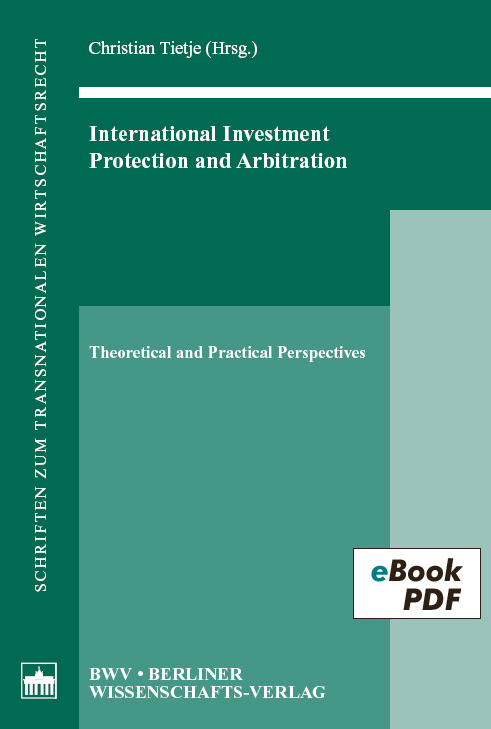 International Investment, Protection and Arbitration