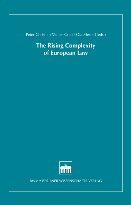 The Rising Complexity of European Law