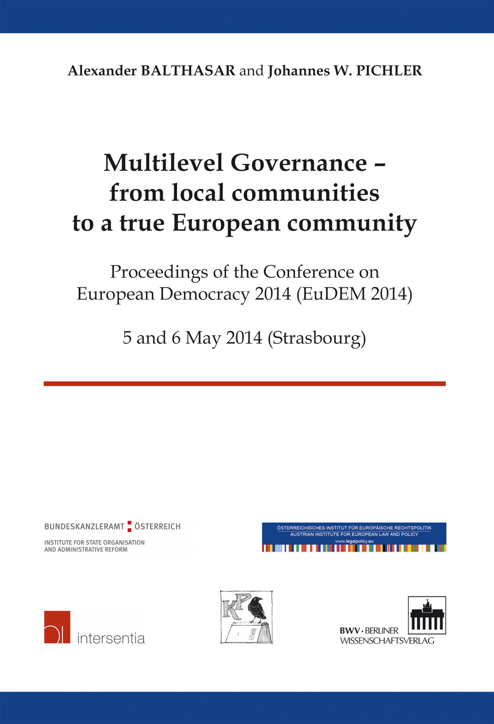 Logo:Multilevel Governance - from local communities to a true European community