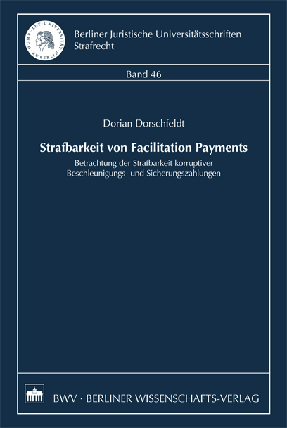 Strafbarkeit von Facilitation Payments