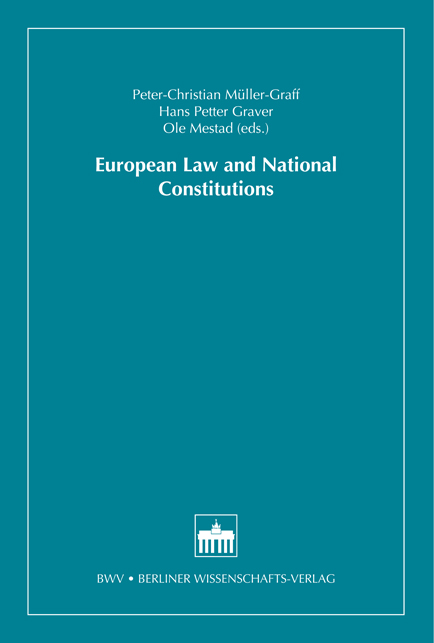 Logo:European Law and National Constitutions