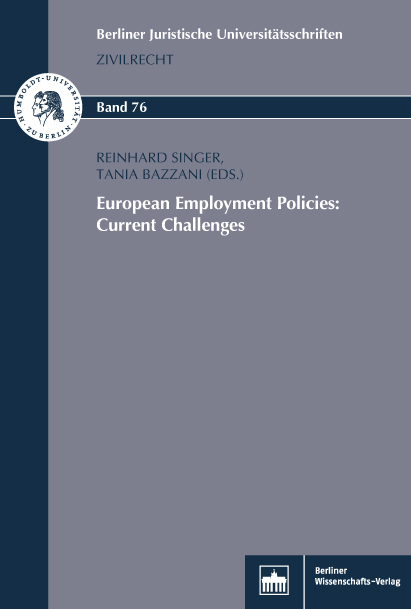 European Employment Policies: Current Challenges