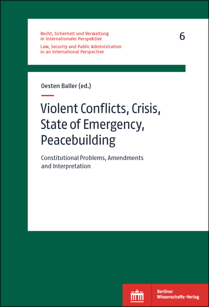 Logo:Violent Conflicts, Crisis, State of Emergency, Peacebuilding